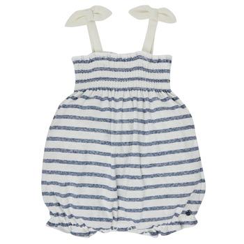 vaatteet Tytöt Jumpsuits / Haalarit Petit Bateau MILLY Monivärinen