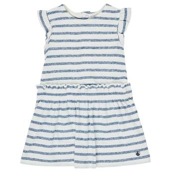 vaatteet Tytöt Lyhyt mekko Petit Bateau MILANAIS Monivärinen
