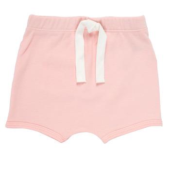 vaatteet Pojat Shortsit / Bermuda-shortsit Petit Bateau MATHEO Vaaleanpunainen