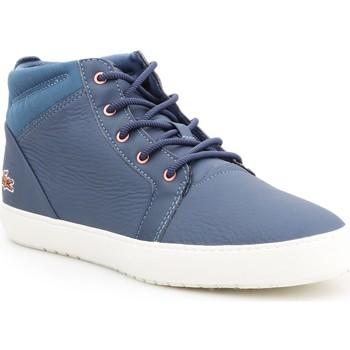 kengät Naiset Korkeavartiset tennarit Lacoste Ampthill 319 2 CFA 7-38CFA00431W6 blue