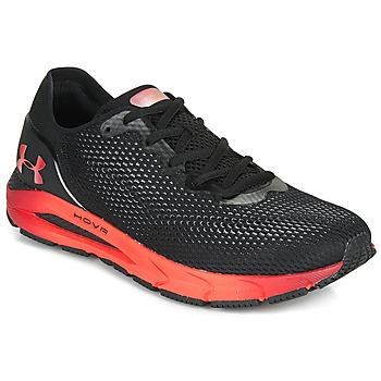 kengät Miehet Juoksukengät / Trail-kengät Under Armour HOVR SONIC 4 CLR SHFT Musta / Punainen