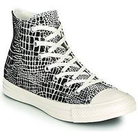 kengät Naiset Korkeavartiset tennarit Converse CHUCK TAYLOR ALL STAR DIGITAL DAZE HI Musta / Beige