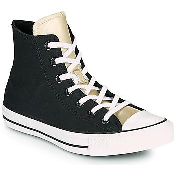 kengät Naiset Korkeavartiset tennarit Converse CHUCK TAYLOR ALL STAR ANODIZED METALS HI Musta