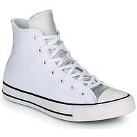 kengät Naiset Korkeavartiset tennarit Converse CHUCK TAYLOR ALL STAR ANODIZED METALS HI Valkoinen