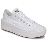 kengät Naiset Matalavartiset tennarit Converse CHUCK TAYLOR ALL STAR MOVE CANVAS COLOR OX White