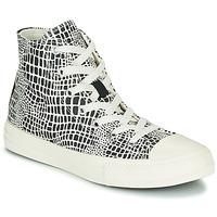 kengät Tytöt Korkeavartiset tennarit Converse CHUCK TAYLOR ALL STAR DIGITAL DAZE HI Musta / Valkoinen