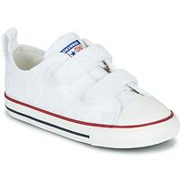 kengät Tytöt Matalavartiset tennarit Converse CHUCK TAYLOR ALL STAR 2V LOVE CEREMONY OX White