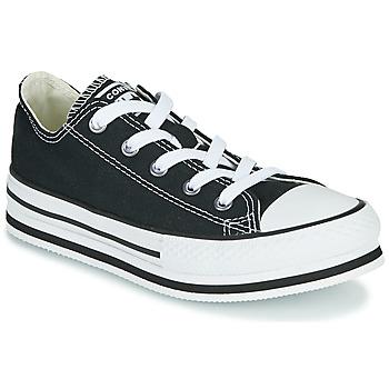 kengät Tytöt Matalavartiset tennarit Converse CHUCK TAYLOR ALL STAR EVA LIFT EVERYDAY EASE OX Musta