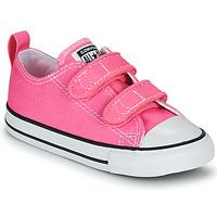 kengät Tytöt Matalavartiset tennarit Converse CHUCK TAYLOR ALL STAR 2V  OX Vaaleanpunainen