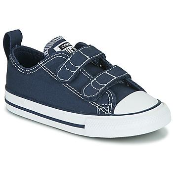kengät Lapset Matalavartiset tennarit Converse CHUCK TAYLOR ALL STAR 2V  OX Sininen
