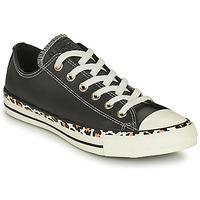 kengät Naiset Matalavartiset tennarit Converse CHUCK TAYLOR ALL STAR ARCHIVE DETAILS OX Musta / Leopardi