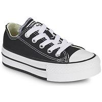 kengät Tytöt Matalavartiset tennarit Converse CHUCK TAYLOR ALL STAR EVA PLATFORM FOUNDATION OX Musta