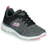 kengät Naiset Fitness / Training Skechers FLEX APPEAL 4.0 Grey / Pink