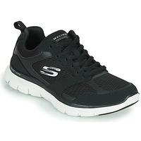 kengät Naiset Fitness / Training Skechers FLEX APPEAL 4.0 Musta