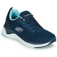 kengät Naiset Fitness / Training Skechers SOLAR FUSE COSMIC VIEW Laivastonsininen