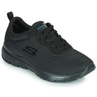 kengät Naiset Fitness / Training Skechers FLEX APPEAL 3.0 Musta