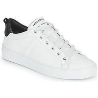 kengät Naiset Matalavartiset tennarit Skechers SIDE STREET Valkoinen