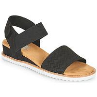 kengät Naiset Sandaalit ja avokkaat Skechers DESERT KISS Musta