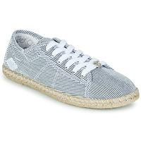 kengät Naiset Matalavartiset tennarit Le Temps des Cerises BEACH Sininen / Valkoinen