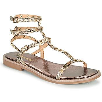 kengät Naiset Sandaalit ja avokkaat Les Tropéziennes par M Belarbi COROL Beige / Python