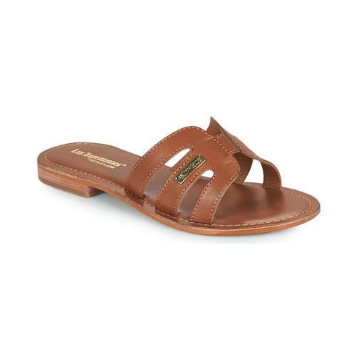 kengät Naiset Sandaalit Les Tropéziennes par M Belarbi DAMIA Ruskea