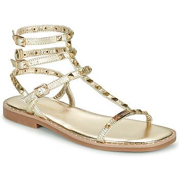 kengät Naiset Sandaalit ja avokkaat Les Tropéziennes par M Belarbi CORALIE Kulta