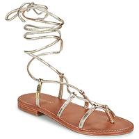 kengät Naiset Sandaalit ja avokkaat Les Tropéziennes par M Belarbi HELLEN Kulta