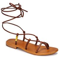 kengät Naiset Sandaalit ja avokkaat Les Tropéziennes par M Belarbi HELLEN Ruskea