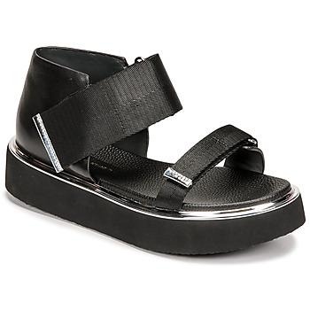 kengät Naiset Sandaalit ja avokkaat United nude VITA SANDAL LO Musta