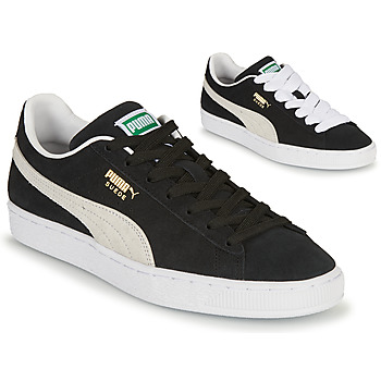 kengät Matalavartiset tennarit Puma SUEDE Musta