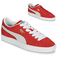 kengät Matalavartiset tennarit Puma SUEDE Punainen