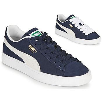 kengät Matalavartiset tennarit Puma SUEDE Sininen