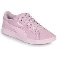 kengät Naiset Matalavartiset tennarit Puma VIKKY Vaaleanpunainen