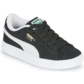 kengät Lapset Matalavartiset tennarit Puma SUEDE PS Musta