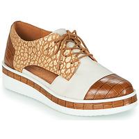 kengät Naiset Derby-kengät Mam'Zelle KIGALI Valkoinen / Ruskea