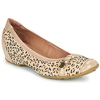 kengät Naiset Balleriinat Mam'Zelle FABRI Beige