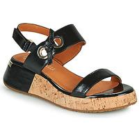 kengät Naiset Sandaalit ja avokkaat Mam'Zelle CLIP Musta