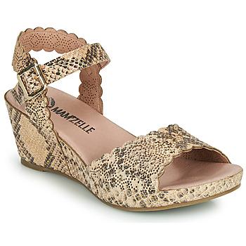 kengät Naiset Sandaalit ja avokkaat Mam'Zelle DOUGA Beige