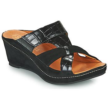 kengät Naiset Sandaalit Mam'Zelle DINAMO Musta