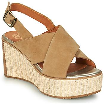 kengät Naiset Sandaalit ja avokkaat Mam'Zelle MEDINA Beige
