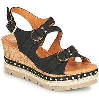 kengät Naiset Sandaalit ja avokkaat Mam'Zelle PAPOTE Musta