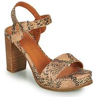 kengät Naiset Sandaalit ja avokkaat Mam'Zelle JAIN Beige