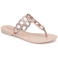 kengät Naiset Varvassandaalit Melissa SUCCESS AD Vaaleanpunainen