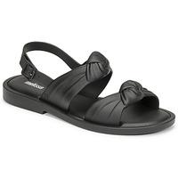 kengät Naiset Sandaalit ja avokkaat Melissa VELVET SANDAL AD Musta