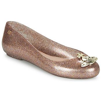 kengät Naiset Balleriinat Melissa VIVIENNE WESTWOOD ANGLOMANIA - SWEET LOVE II Vaaleanpunainen