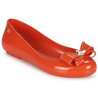 kengät Naiset Balleriinat Melissa VIVIENNE WESTWOOD ANGLOMANIA - SWEET LOVE II Punainen