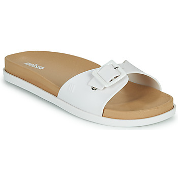 kengät Naiset Sandaalit Melissa WIDE SLIDE AD Valkoinen