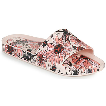 kengät Naiset Sandaalit Melissa BEACH SLIDE PRINT AD Vaaleanpunainen