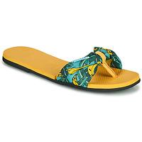 kengät Naiset Varvassandaalit Havaianas YOU SAINT TROPEZ Yellow / Kulta