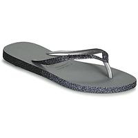 kengät Naiset Varvassandaalit Havaianas SLIM SPARKLE II Harmaa